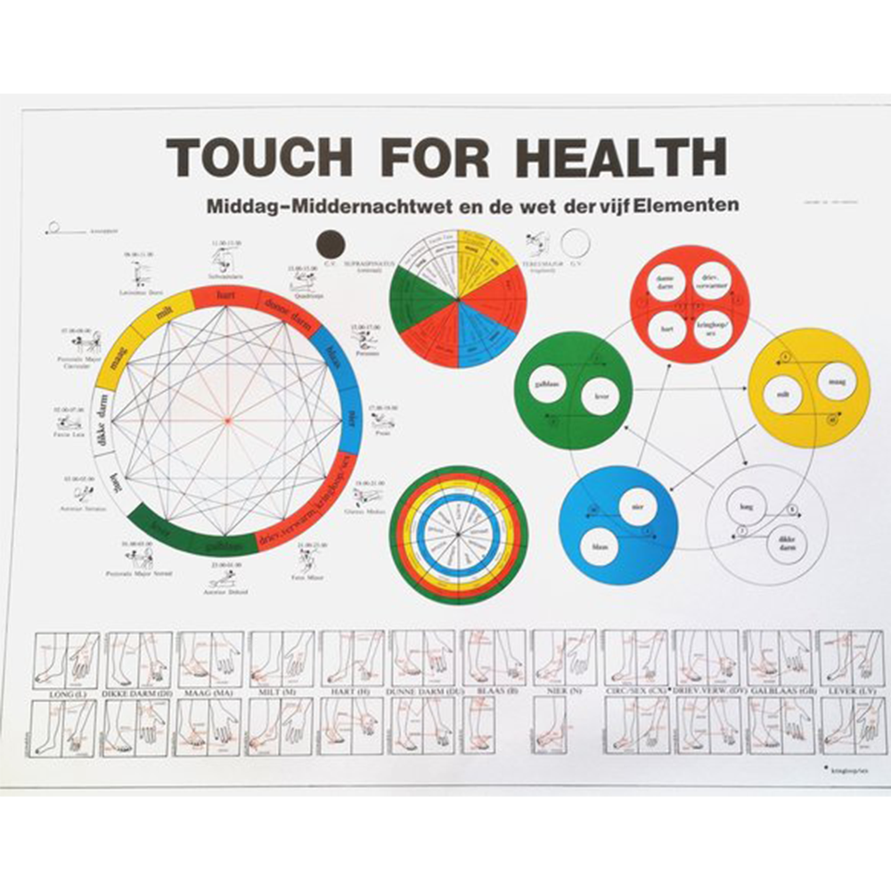 Touch For Health Poster