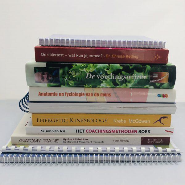 Boekenpakket eerste jaar Psychosomatisch Kinesioloog