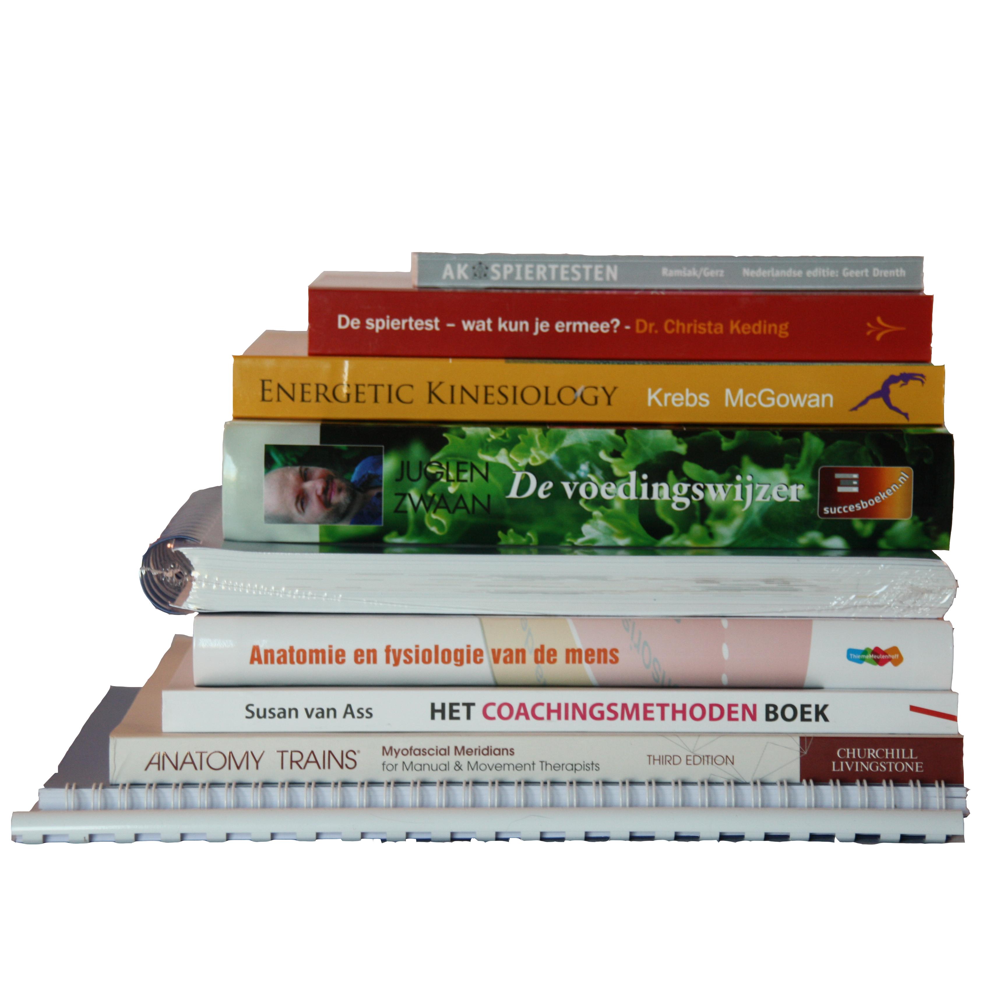 Boekenpakket 1e Jaar Psychosomatisch Kinesioloog