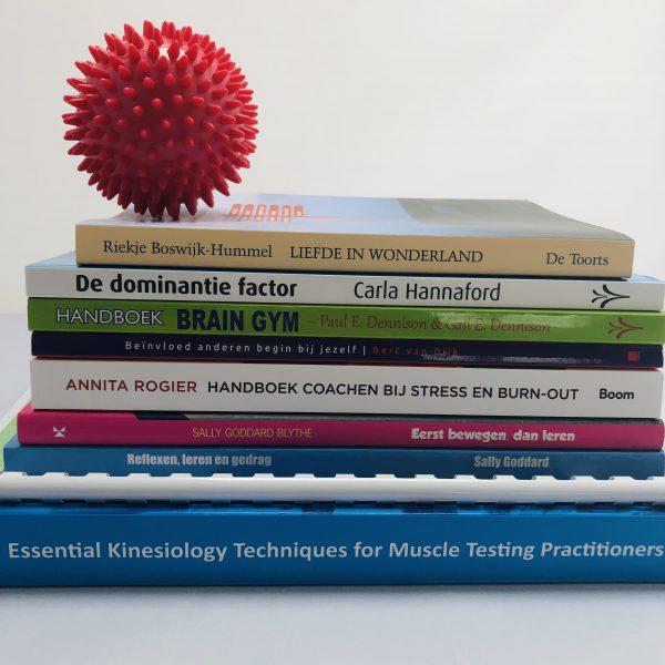 Boekenpakket tweede jaar Psychosomatisch Kinesioloog